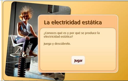 La electricidad estática