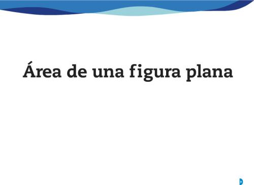 c3a1rea-de-una-figura-plana