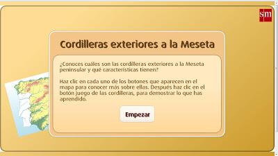 CORDILLERAS EXTERIORES