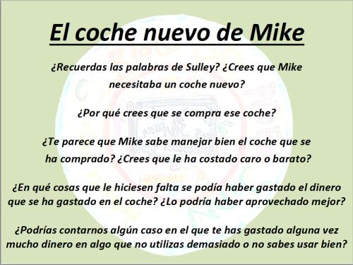 coche de Mike