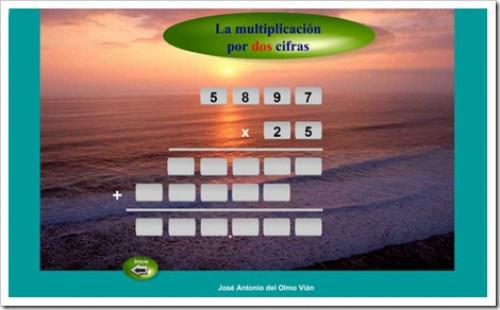 multiplicacion dos cifras